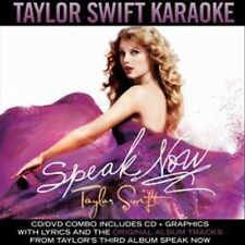 NEW - Speak Now Karaoke by Taylor Swift