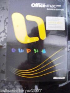 Microsoft Office:mac 2008 Business Edition, SKU GYD00001, Sealed Retail Box