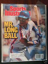 1988 Sports Illustrated-New York Mets Darryl Strawberry