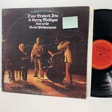 Dave Brubeck Trio Gerry Mulligan Live at Berlin- Columbia 32143 VG+-/VG+-