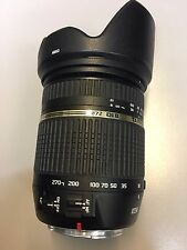 Tamron 18-270mm f/3.5-6.3 AF Di-II DX Zoom Lens Canon Mount