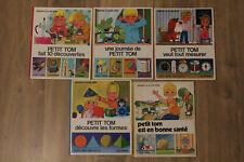 """Lot de 5 """"Petit Tom""""  - Gérard et Alain Grée - Casterman - 1969 à 1975"""