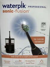 Waterpik Sonic Fusion Professional Toothbrush And Water Flosser,black/rose gold