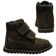 Timberland Pokey Pine Hook & Loop Kids Toddlers Youths Nubuck Boots A127B B82E