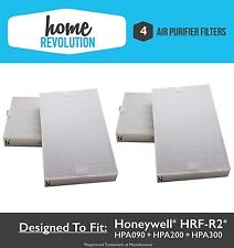 4PK Filters For Honeywell HRF-R2 Air Purifier -HPA-090, HPA-100, HPA200 & HPA300