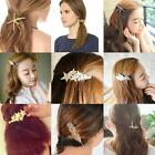 Fashion Women Chain Rhinestone Hair Band Headband Hairpin Clip Barrette Jewelry