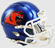 COAST GUARD BEARS NCAA Riddell SPEED Authentic MINI Football Helmet