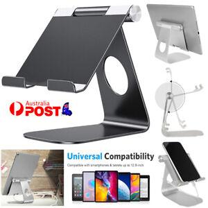 For iPad Air/ Mini iPhone Adjustable Aluminium Stand Holder Tablet Read Mount