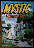 MYSTIC FUNNIES #1 1997 ROBERT R CRUMB MR NATURAL UNDERGROUND COMICS COMIC BOOKS