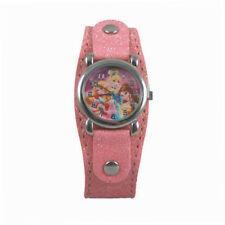 Disney Kids' Watch Princess Girls Pink Glitter Band Quartz analog watch Gift