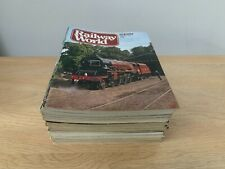 More details for job lot of 1970's/1980's railway magazines - free uk postage!!