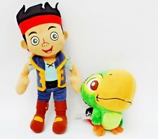 Disney / Posh Paws Jake & Skully the Parrot - Soft Toy Plushes Neverland Pirates