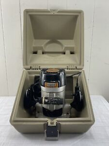 Vintage Sears Craftsman Commercial Router 315.17380 with Case