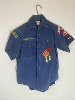 Cub Scouts Vintage Full Uniform circa 1960's with Books & Flag