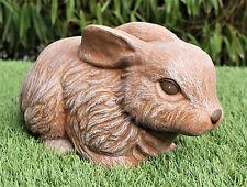 Statue de lièvre en pierre figure jardin décoratif lapin de Pâques osterdeko