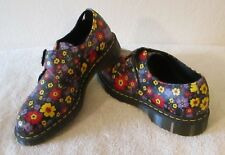 NEW Dr Martens Jaime Womens Monk Strap Oxford Shoes 11 Black MSRP$120