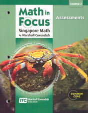 Grade 7 Math in Focus Assessments Book Course 2 7th Singapore