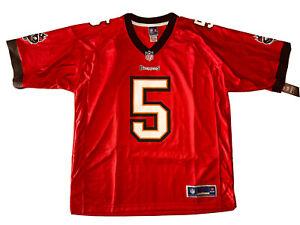 *NEW* NFL Tampa Bay Buccaneers 'Josh Freeman #5' Men's Red Football Jersey; XL