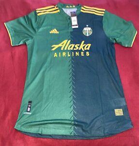 """Portland Timbers Green Kit Special """"DAMIAN LILLARD"""" #0 Jersey Men's XL MLS"""
