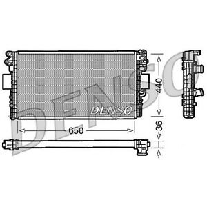 DENSO Radiator - DRM12004 - Engine Cooling Part - Genuine DENSO OE Part