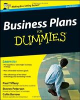 Business Plans For Dummies By Paul Tiffany, Steven D. Peterson, Colin Barrow