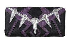 Black Panther Costume Zip-Around Wallet By Loungefly