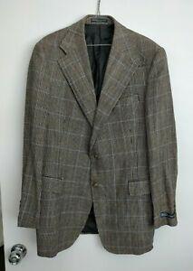 Ralph Lauren Polo Men's Linen & Wool Blend Suit Jacket Size 44L NEW WITH FAULT