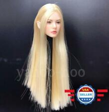~IN STOCK~1/6 Fairy Female Head Blonde Hair Detachable Ears for Pale Phicen Body