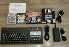 Sinclair ZX Spectrum 128k +2a. Refurbished. Games. PSU. Recapped. VGC