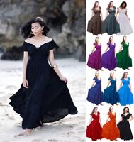 Bohemian Fashion Maxi Dress - Smocked Tiers Rayon Crinkle - LotusTraders S9030