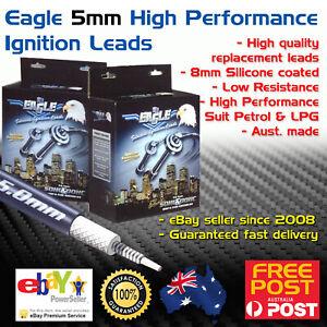 Eagle 5mm Ignition Spark Plug Leads Fits Toyota Landcruiser 100 FZJ105 1FZFE