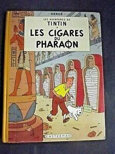 HERGE - LES CIGARES DU PHARAON. Casterman 1955. B14  . EO BEL ETAT ++++