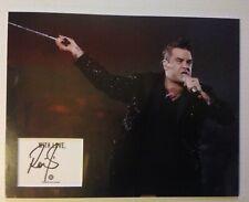 Robbie Williams Autograph Signed 11x14 Display AFTAL [B3785]