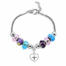 Crystal Glass Brass Fashion Bracelets