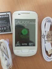 Samsung Galaxy Mini S5570 Sim Free Mobile Phone Unlocked White