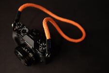 Orange 95cm Woven Cotton Rope Camera Strap w/ ring connection by Cam-in CAM1319