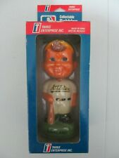 "Vintage 1990 MLB Bobble Head Bobbing Boy Oakland Athletics Player New MIB 8"""