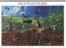 SCOTT #3506  SOUVENIR SHEET   34 CENT  GREAT  PLAINS  PRAIRIE  MNH