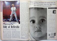 Mag rare 1990: EDDY MITCHELL_JULIEN CLERC_CLAUDE LEVI-STRAUSS