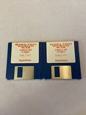 Vintage Amiga 500 or higher two 3.5 Hard Disk When two Worlds War  Impressions