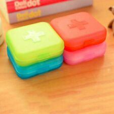 Medical Pill Storage Box Mini Portable Tablet Medicine Container Capsule Bin Kit
