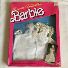 Vintage Mattel Barbie Private Collection Fashions Wedding Dress - New-1980s