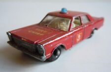 ANCIENNE MATCHBOX LESNEY - EPAVE FORD GALAXIE FIRE CHIEF N° 55/59