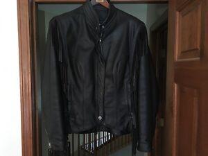 women's  harley davidson leather jacket medium