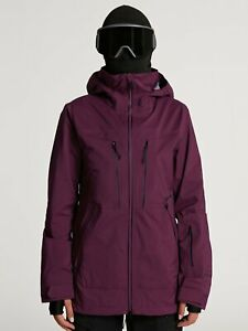 2021 NWT WOMENS VOLCOM VS STRETCH GORE-TEX JACKET $540 S Vibrant Purple VS10 fit