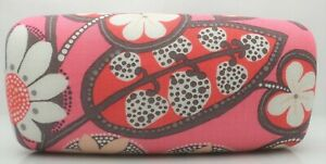 Vera Bradley Sunglasses Case BLUSH PINK Pattern Large Hard Shell case NEW