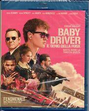 Baby driver - il genio della fuga - bollino noleggio - blu-ray - nuovo