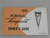 GM Pontiac Tempest 1962 Betriebsanleitung Owners Guide