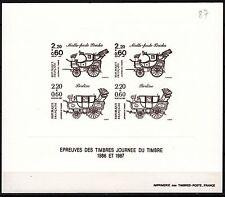 FRANCE GRAVURES DU TIMBRE N° 2468 / 2469 JOURNEE DU TIMBRE VOITURE