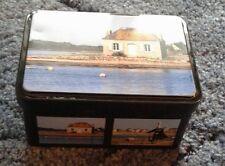 small french caramel storage tin